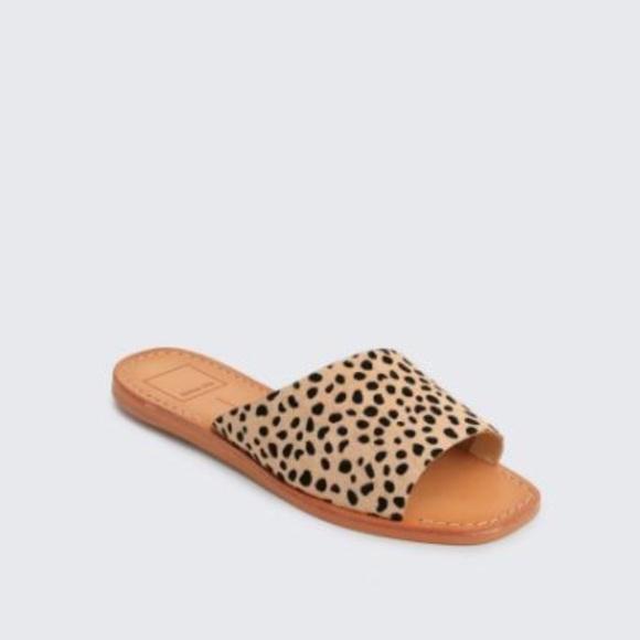 Dolce Vita Cato Leopard Slide Sandals